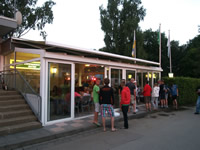 Bistro in the evening